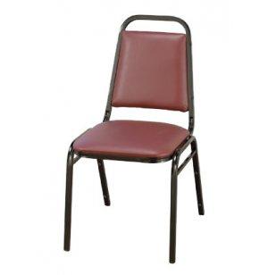Basic Custom Vinyl Stacking Chair
