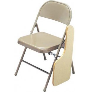 Left-Hand Tablet Folding Chair