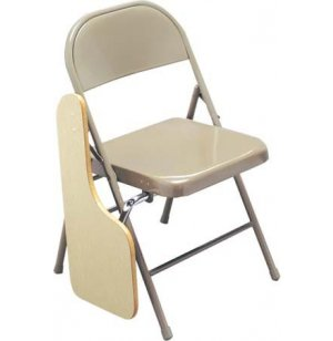 Right-Hand Tablet Folding Chair