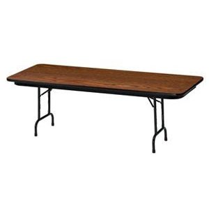 Laminate Rectangular Folding Table-Adj. Height
