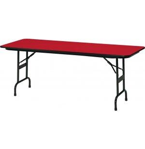 Colored School Folding Table - Leg Brace