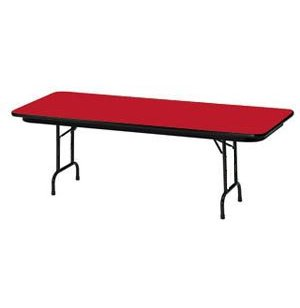 Rectangular Color Top Table - Adjustable Height