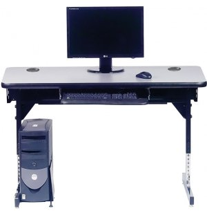 8700 Series T-Leg Computer Table