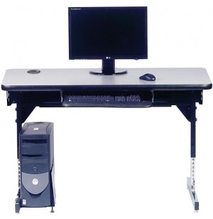 8700 Series Adjustable Classroom Computer Table