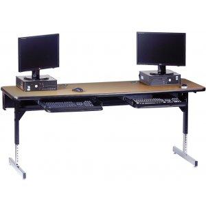 8700 Series Adjustable ADA Computer Table