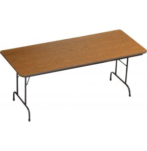 Formica Honeycomb Top Folding Table-Adj. Height