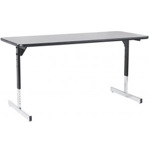 8700 Series Adjustable Height T-Leg Training Table