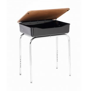 Lift Lid School Desk with U Brace