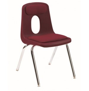 120 Series Poly Shell Chair with Pads