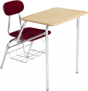 Combo Student Chair Desk - Laminate Top