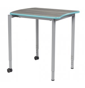 S4 Stacking Collaborative Desk, Adjustable Height
