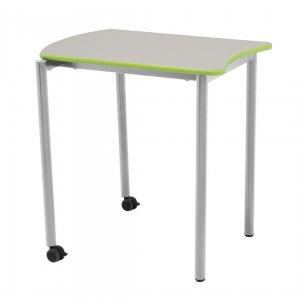 S4 Stacking Collaborative Desks w/ Colored Edge