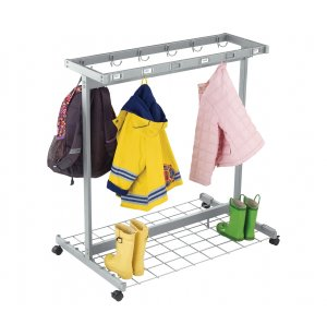 Mobile Classroom Backpack Coat Rack