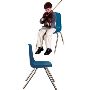 Poly Shell Musician Chair