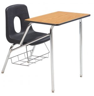Poly Student Chair Desk - Laminate Top