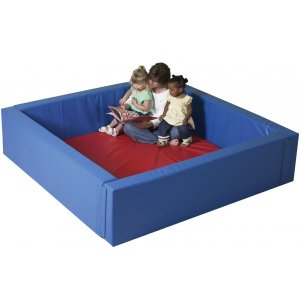 Basic Infant Toddler Soft Play Yard with Mat