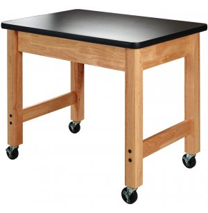 Mobile Demo Cart - High Pressure Laminate Top