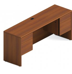 Adaptabilities Office Kneespace Computer Credenza