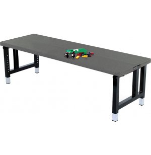 Adjustable Height Aluminum Folding Table