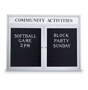 Enclosed Letterboard - Header