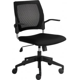 Patterned Mesh Task Chair