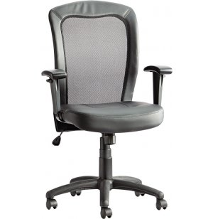 Easton Mesh/Leather Chair