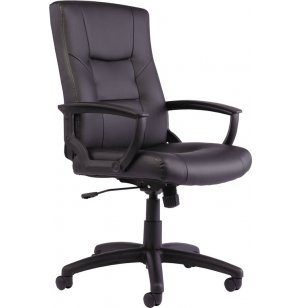 Economy YR Leather High-Back Chair