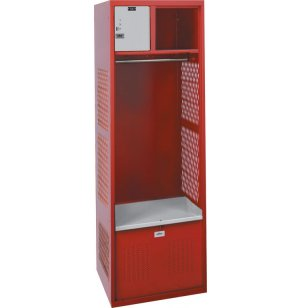 Athletic Locker w/Lock Box, Foot Locker, Rod