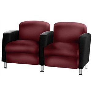 Accompany 2-Seat Reception Chair Two Tone Grade 1