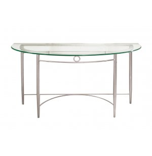 Malibu Demilune Sofa Table