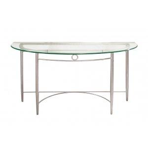 Malibu Demilune Sofa Table
