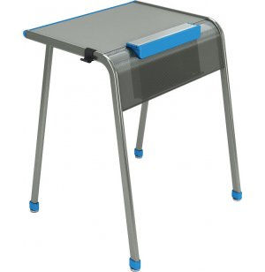 "A&D K-Leg School Desk with Tablet Book Cradle - 24""x20"""