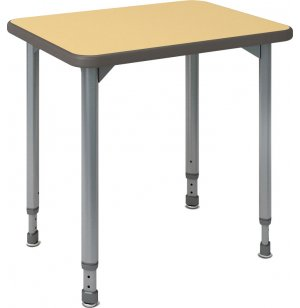 A & D Adjustable Height Student Desk