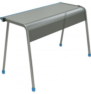 "A&D K-Leg Double School Desk - 60""x20"""
