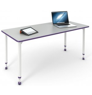 A&D Adjustable Height ADA Compliant Student Desk