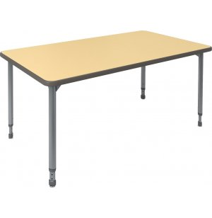 A&D Adjustable Rectangular Activity Table