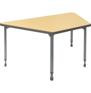 A&D Adjustable Trapezoid Activity Table