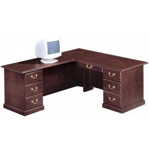 Executive L-Shaped Office Desk- L Rtn