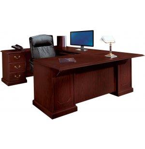 Andover U-Shaped Office Desk w/Left Rtn