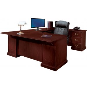 Andover U-Shaped Office Desk w/Right Rtn