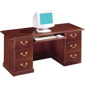 Andover Kneespace Office Computer Credenza