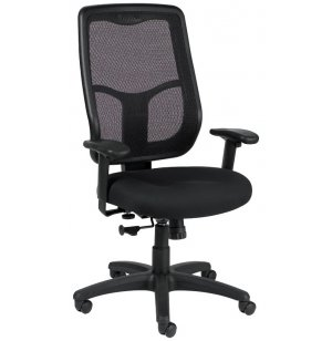 Apollo High-Back Mesh Office Chair Fabrix Gr 1
