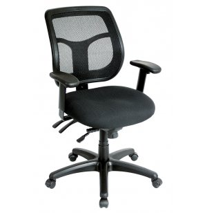 Apollo MidBack MultiFunct Task Chair Fabrix Gr 1