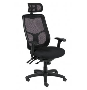 Apollo Hi-Back Multi-Funct Task Chair Fabrix Gr 1