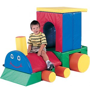 Little Chug Engine Soft Play Forms