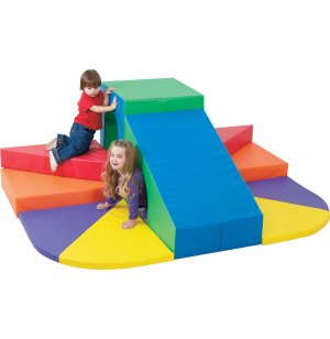 Indoor Soft Play Tunnel Mountain Slide