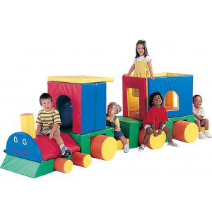 Train with Caboose Soft Play Forms