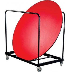 Round Folding Table Cart