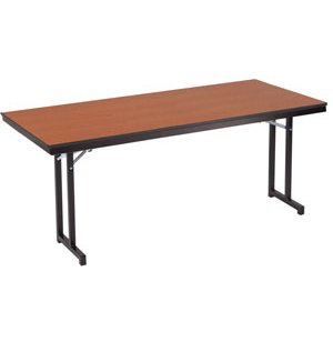 Adjustable Height Folding Training Table