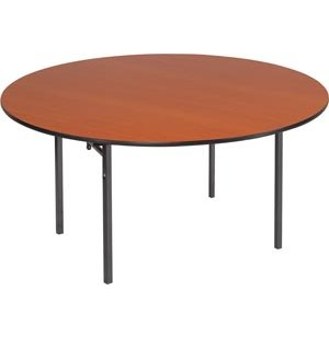 Round Folding Table -  Plywood Core